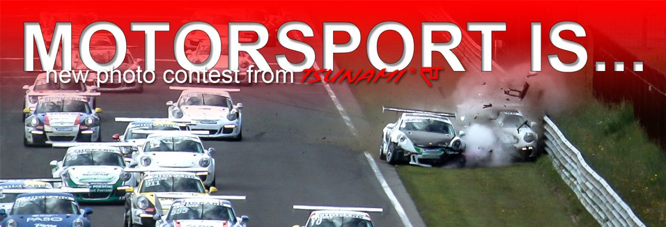 Motorsport is... Represents a new photo contest from Tsunami RT!